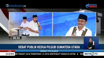 Debat Publik Kedua Pilgub Sumatera Utara (4)