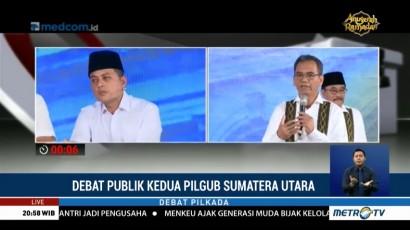 Debat Publik Kedua Pilgub Sumatera Utara (5)