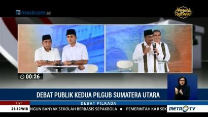 Debat Publik Kedua Pilgub Sumatera Utara (6)