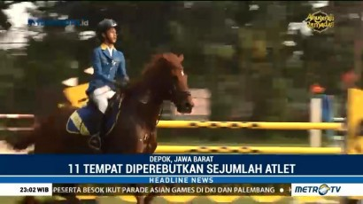 Seri Ketiga Babak Kualifikasi Pembentukan Timnas Equestrian