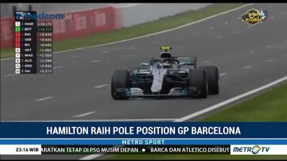 Hamilton Raih Pole Position GP Spanyol