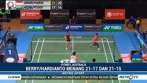 Dua Ganda Putra Indonesia Berhadapan di Final Australia Terbuka 2018