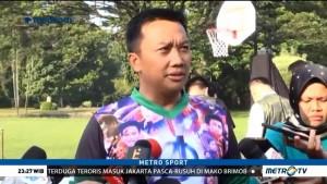 Menpora Kenakan Kaos Asian Games Bertema Film Avengers