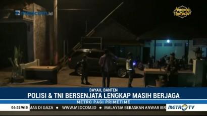 TNI-Polri Masih Berjaga di Mapolsek Bayah