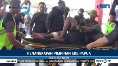 Pimpinan Kelompok Kriminal Bersenjata Papua Ditangkap