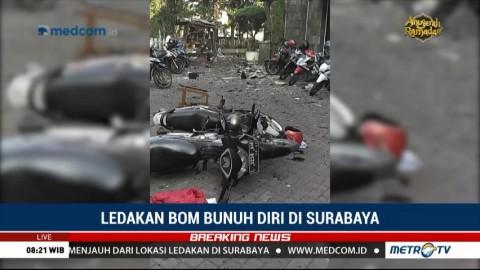 Seluruh Korban Bom Bunuh Diri di Surabaya Telah Dievakuasi