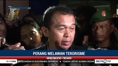 Pelaku Ledakan Bom di Rusunawa Wonocolo Sidoarjo Tewas Ditembak Polisi