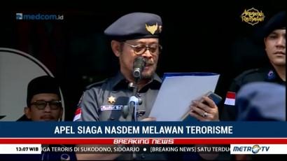 Apel Siaga NasDem Melawan Terorisme (1)