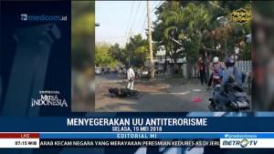 Menyegerakan UU Antiterorisme