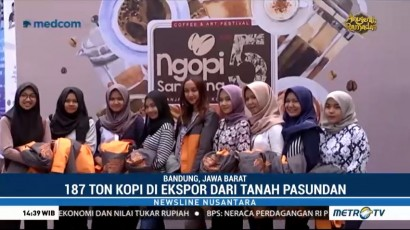 West Java Coffee and Art 2018 Jadi Ajang Promosi Kopi Nusantara