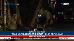 Tim Gegana Periksa Paket Mencurigakan di Surabaya