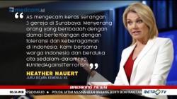 Serangan Teror di Surabaya Disorot Dunia