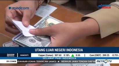 Kuartal I-2018, Utang Luar Negeri Indonesia Meningkat 8,7 Persen