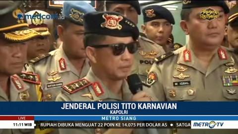 Kapolri Kunjungi Mapolda Riau