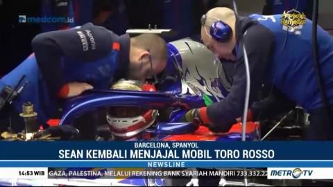 Sean Gelael Ikut Tes Formula 1 Barcelona