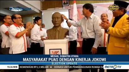Ribuan Masyarakat Sumut Deklarasikan Dukungan untuk Jokowi