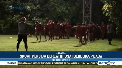 Persija Jakarta Pilih Latihan Malam Selama Ramadan