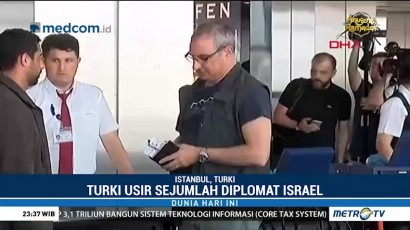 Turki dan Israel Saling Usir Diplomat
