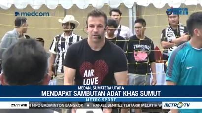 Del Piero Mencari Pemain Berbakat di Medan