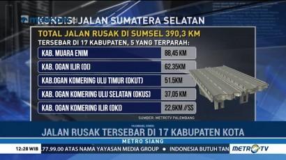 Janji Cagub Benahi Infrastruktur Jalan di Sumsel