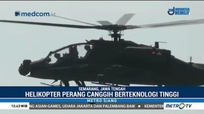 Delapan Helikopter Apache AH-64E Perkuat Alutsista TNI