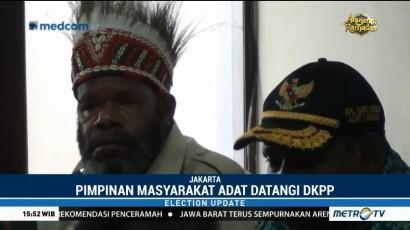 Dua Kepala Suku Kabupaten Puncak Papua Datangi DKPP