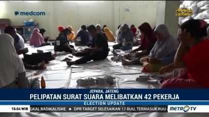 KPU Jepara Mulai Sortir Surat Suara Pilgub Jateng