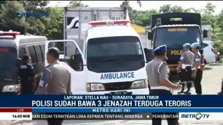 Tiga Jenazah Pelaku Terorisme Rusun Wonocolo Diserahkan ke Keluarga