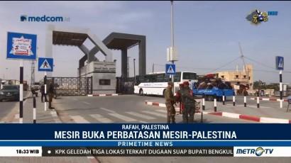 Mesir Buka Perbatasan dengan Gaza Selama Ramadan