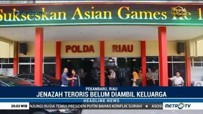 Keluarga Belum Ambil Jenazah Penyerang Mapolda Riau