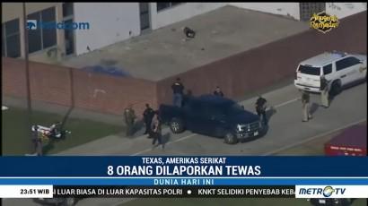 Penembakan di Sekolah Texas, 8 Orang Tewas