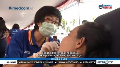 Sangha Theravada Indonesia Gelar Bakti Sosial di Kota Tua
