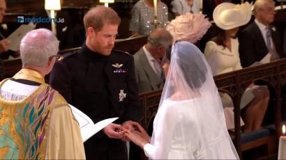 Sah! Pangeran Harry dan Meghan Markle Jadi Suami Istri