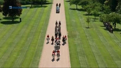 Pangeran Harry dan Meghan Markle Kembali ke Kastel Windsor