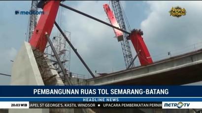 Tol Semarang-Batang Ditargetkan Bisa Dilalui H-10 Lebaran