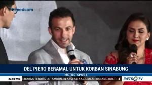 Del Piero Beramal untuk Korban Sinabung