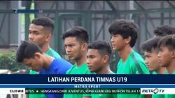 Timnas U-19 Jalani Latihan Perdana