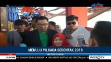 Ridwan Kamil Blusukan ke Pasar Antri Cimahi