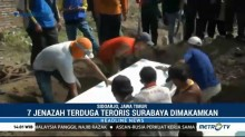 Tujuh Jenazah Terduga Teroris Dimakamkan di Makam Dinsos Sidoarjo