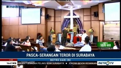 Petugas GKI Diponegoro Gelar Simulasi Penyelamatan Bom