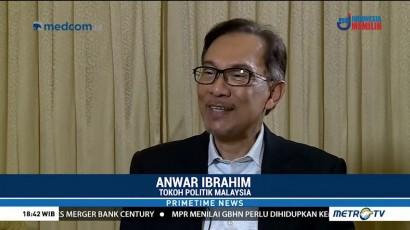 Anwar Ibrahim Mengaku Tak akan Campuri Pembentukan Kabinet