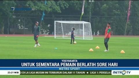 Timnas U-19 Tetap Berlatih Meski Sedang Berpuasa