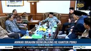 Anwar Ibrahim Berkunjung ke Kantor PBNU