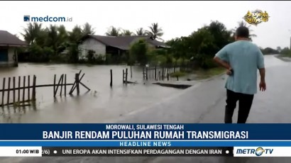 Banjir Landa Morowali
