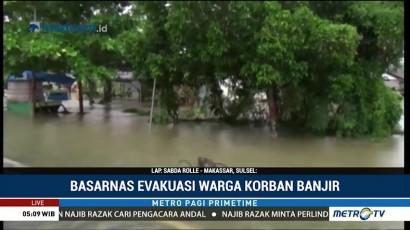 Ratusan Rumah di Bone Terendam Banjir