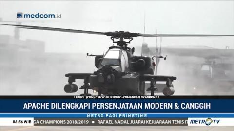 Kecanggihan Armada Tempur Helikopter Apache TNI AD