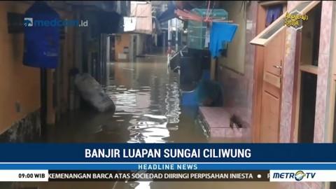 Puluhan Rumah di Kampung Melayu Terendam Banjir