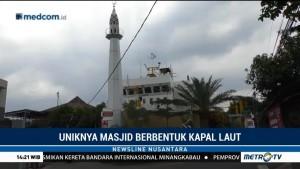 Uniknya Masjid Berbentuk Kapal Laut