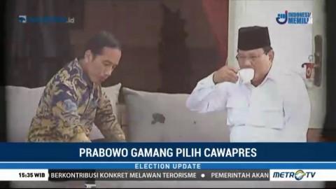 Prabowo Gamang Pilih Cawapres