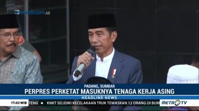 Jokowi: Perpres Perketat Masuknya TKA